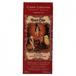 Cosmetics Natural Colour Cream - Henna w płynie Acajou/Mahoń 90ml
