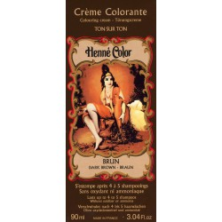 Cosmetics Natural Colour Cream - Henna w płynie Brun/Brąz 90ml