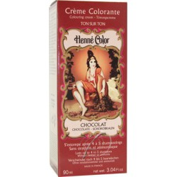Cosmetics Natural Colour Cream - Henna w płynie Chocolat/ Czekoladowy Brąz 90ml