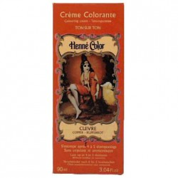 Cosmetics Natural Colour Cream - Henna w płynie Cuivre/Miedź 90ml