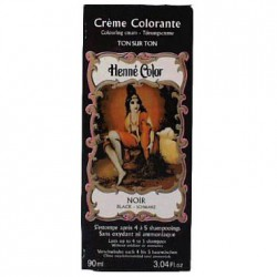 Cosmetics Natural Colour Cream - Henna w płynie Noire/Czarny 90ml